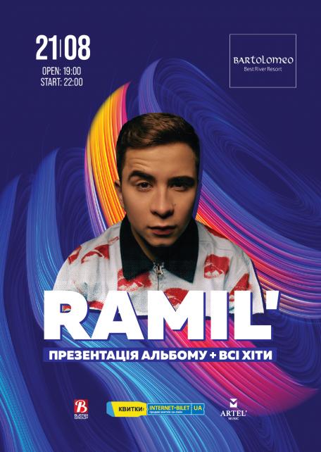 RAMIL' З СОЛЬНИМ КОНЦЕРТОМ У БАРТОЛОМЕО!